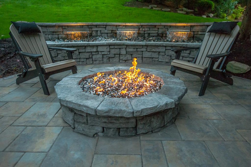 Triple Threat Gas Fire Pit