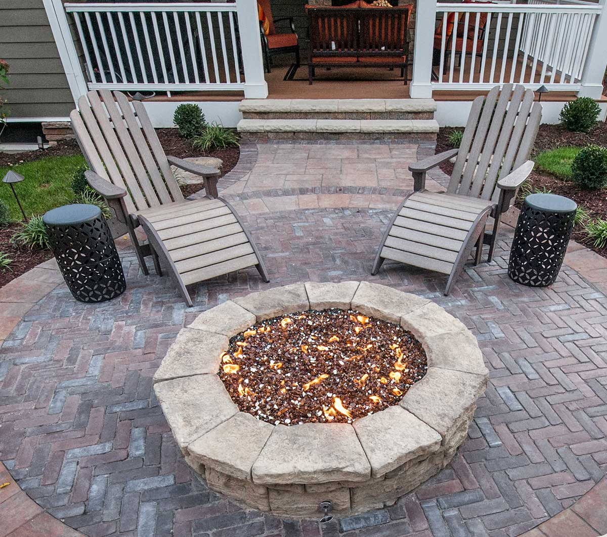You Ll Fall Hard For This Stunning Outdoor Fire Pit
