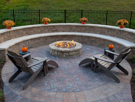 Stunning Outdoor Gas Fire Pit