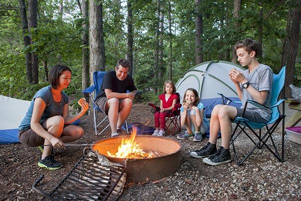 fire pit family fun